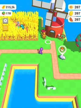 أرض المزرعة: لعبة الزراعة الحياة تصوير الشاشة 8