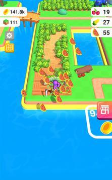 أرض المزرعة: لعبة الزراعة الحياة تصوير الشاشة 12