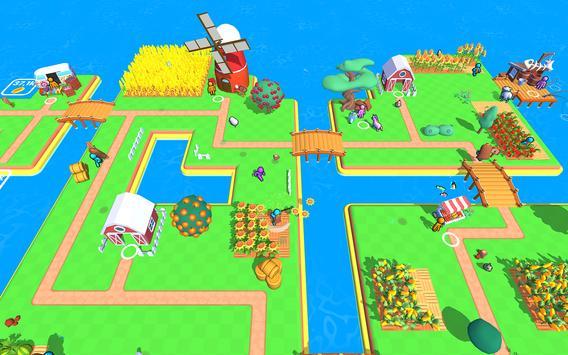 أرض المزرعة: لعبة الزراعة الحياة تصوير الشاشة 13