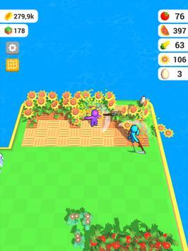 أرض المزرعة: لعبة الزراعة الحياة تصوير الشاشة 18