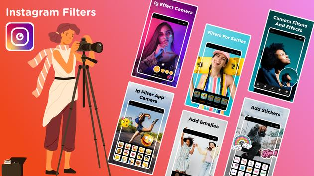 camera for instagram filters & effects: IG filters Cartaz