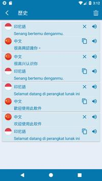 中印尼翻譯 截圖 4