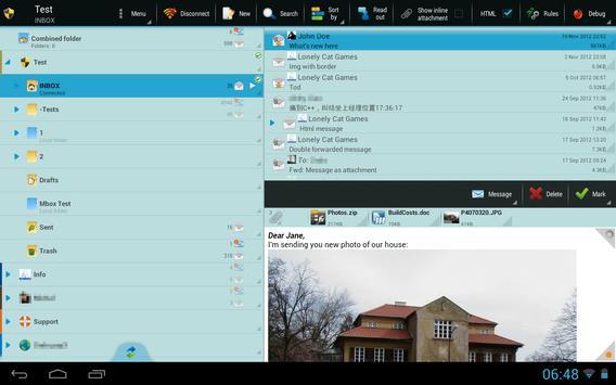 ProfiMail Go screenshot 8