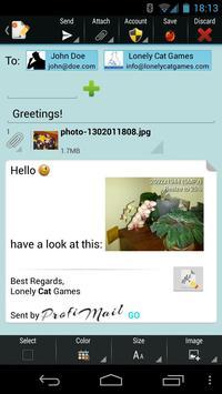 ProfiMail Go screenshot 3