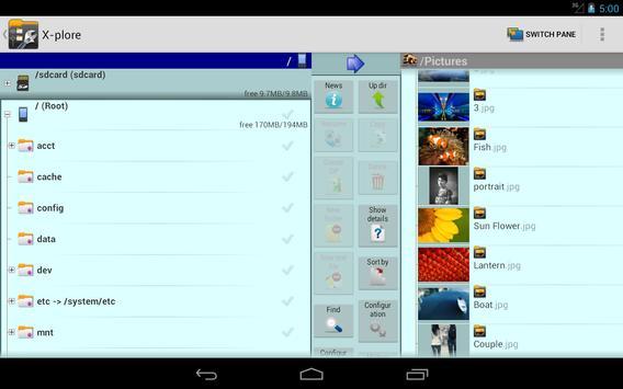 X-plore screenshot 11