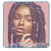 Long Braids Hairstyle icon