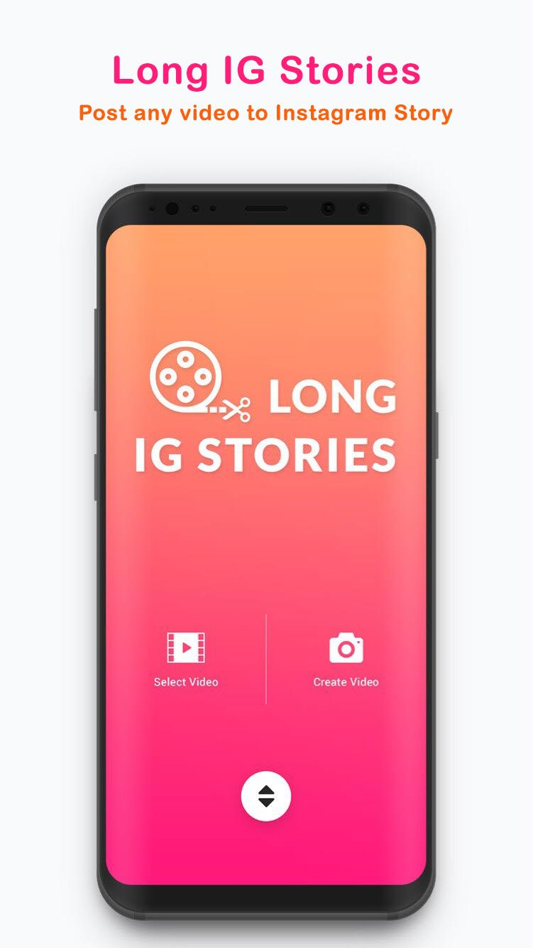 Long Stories - upload full story on instagram for Android