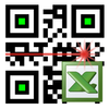 Barcode-Scanner LoMag zu Excel Zeichen
