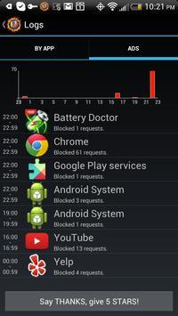 LostNet NoRoot Firewall screenshot 6