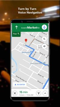 GPS Navigation Maps Directions - Weather Forecast screenshot 4