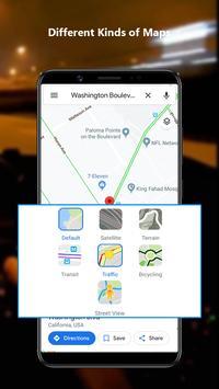GPS Navigation Maps Directions - Weather Forecast screenshot 6