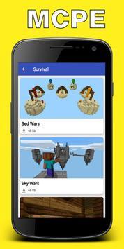 Maps for Minecraft PE (Pocket Edition) screenshot 1