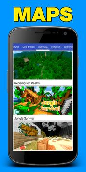 Maps for Minecraft PE (Pocket Edition) screenshot 2