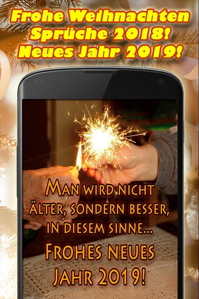 Spruch Frohe Weihnachten Und Ein Gutes Neues Jahr.Frohe Weihnachten Spruche 2018 Gutes Neues Jahr Fur Android