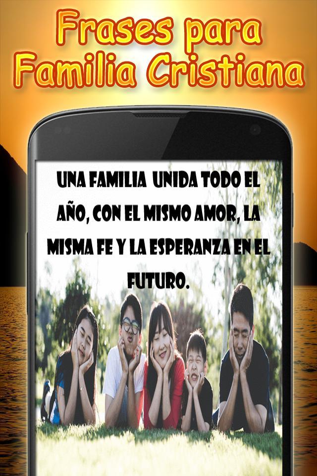 Frases Para Familia Cristiana для андроид скачать Apk