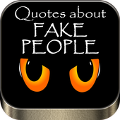 Quotes about fake people icône