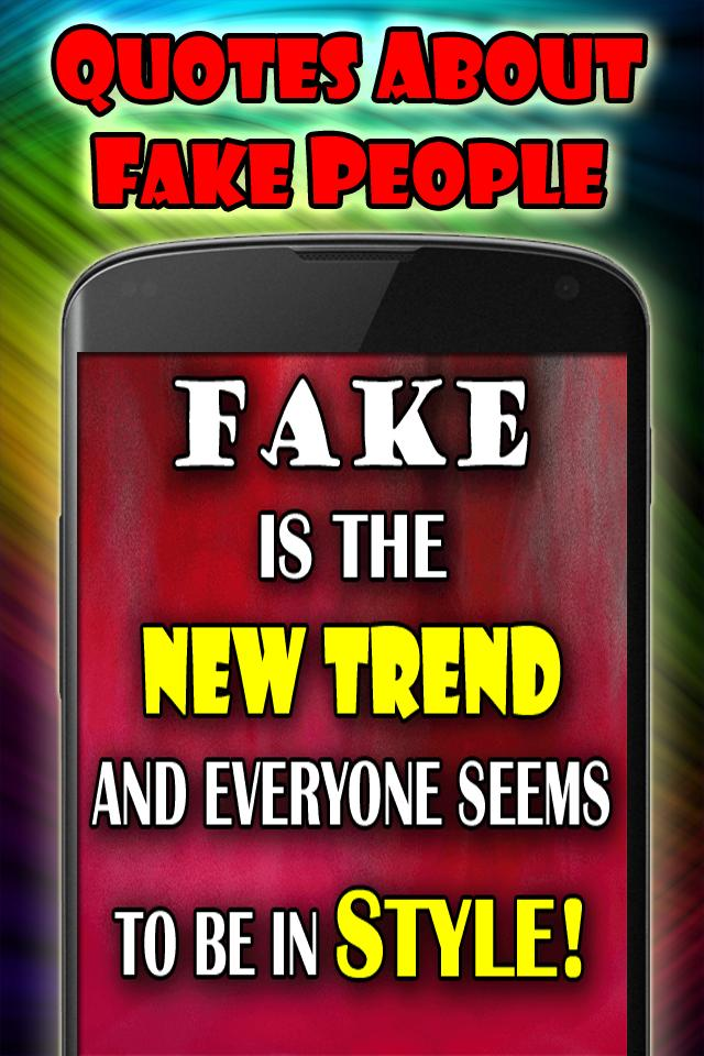 Quotes about fake people for Android - APK Download