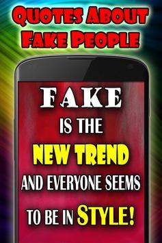Quotes about fake people capture d'écran 7