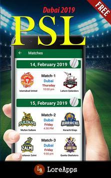 PSL: Pakistan Super League 2019 screenshot 3