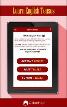 Learn English Tenses screenshot 4