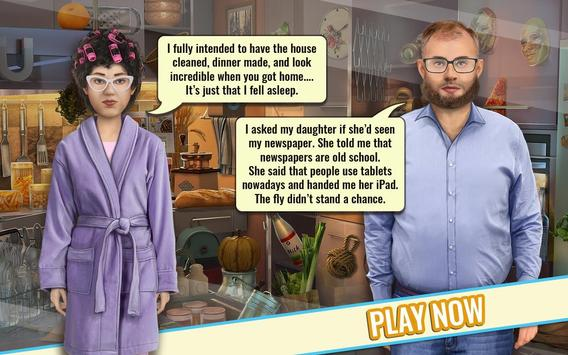 Hilarious Hidden object game with Funny jokes poster