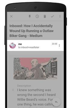 InboxIt capture d'écran 1