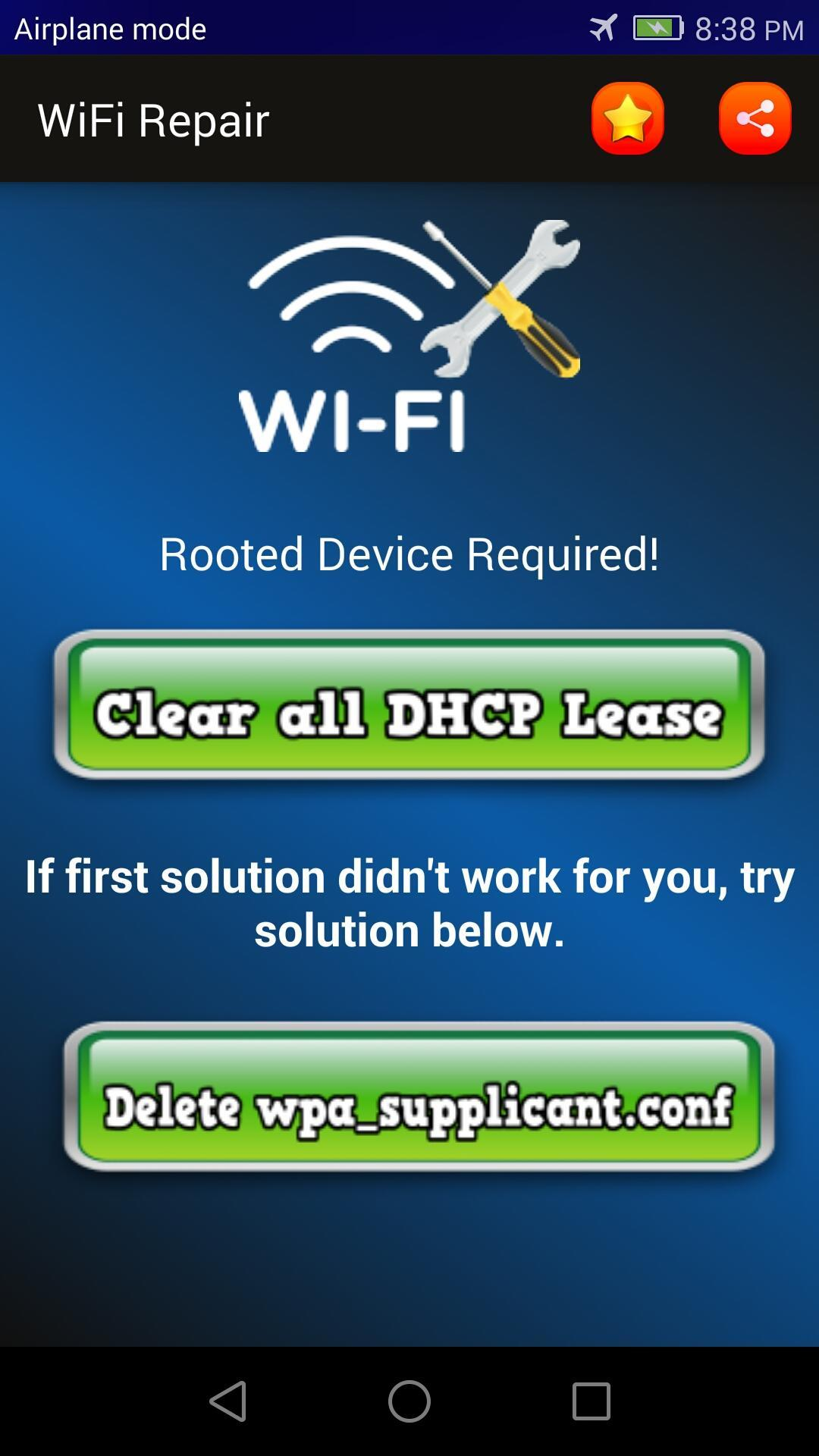 Quick WiFi Fixer (Root) for Android - APK Download