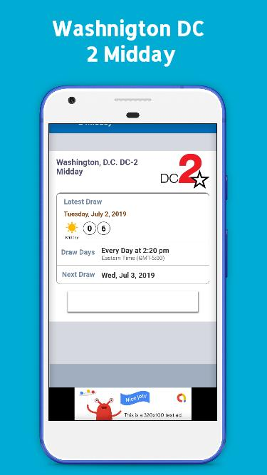 Washington DC Lottery Results for Android - APK Download