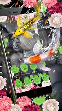 Lotus Koi Fish Theme screenshot 4