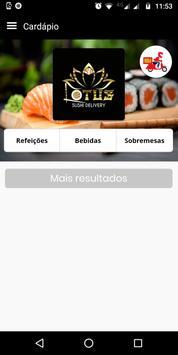 Lotus Sushi screenshot 2