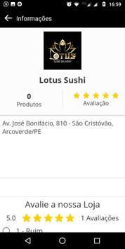 Lotus Sushi screenshot 4