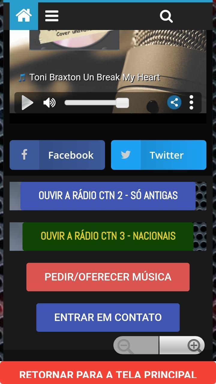 Amelinha Lilith radio ctn - a r�dio da cidade tiradentes for android - apk