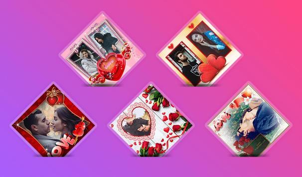 Love Collage : Photo Frame, Editor & Love Photo screenshot 4