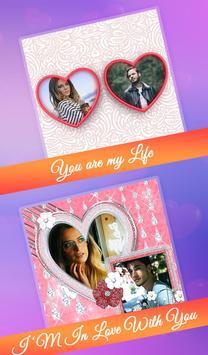Love Collage : Photo Frame, Editor & Love Photo screenshot 9