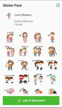 WAStickerApps - Love Stickers Pack ポスター