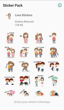 WAStickerApps - Love Stickers Pack screenshot 10