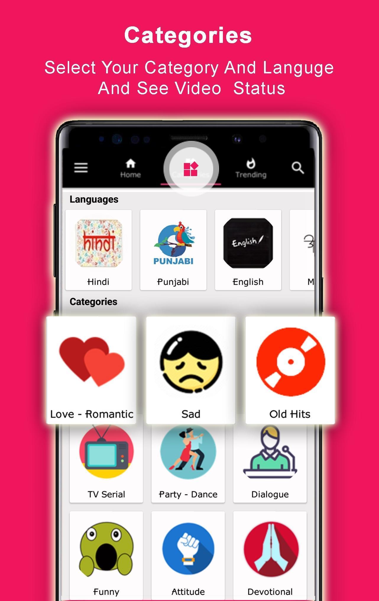 Full Screen Video Status 2019 - YoYoStatus 4 Love for Android - APK