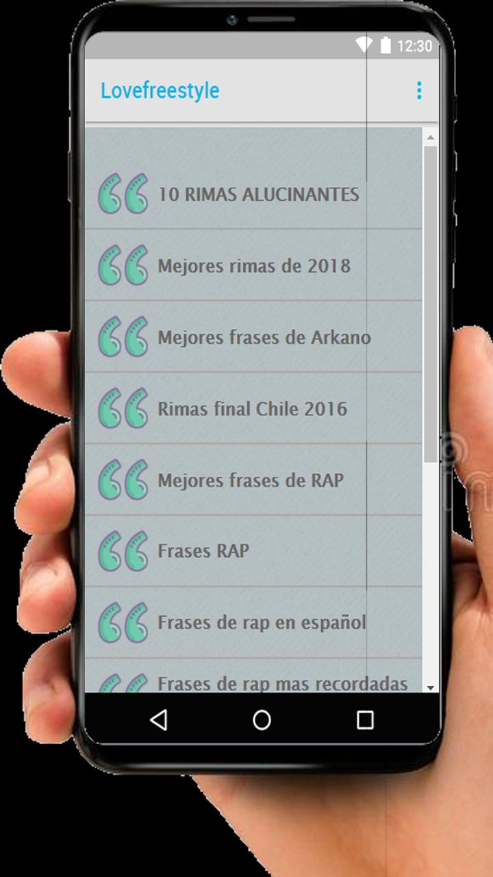 The Best Rhymes Of Freestyle And Rap For Android Apk Download