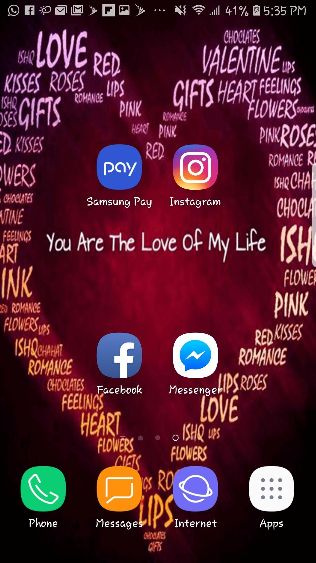 Love Beautiful Hd Wallpaper Mobile Background For Android
