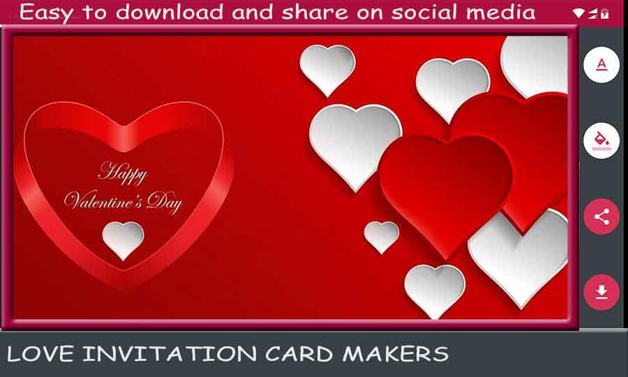 Love Invitation Card Makers For Android Apk Download