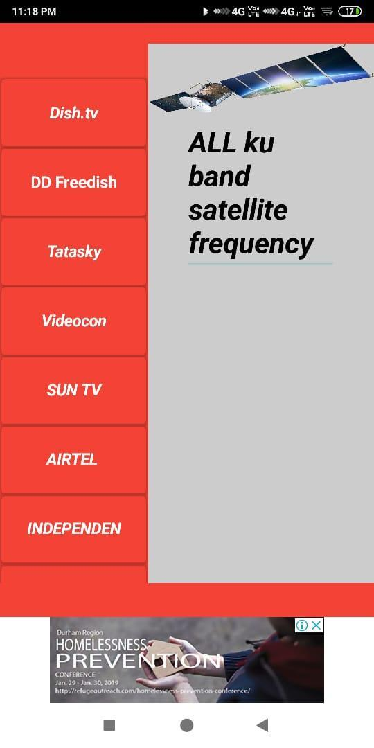 Dth frequency for Android - APK Download