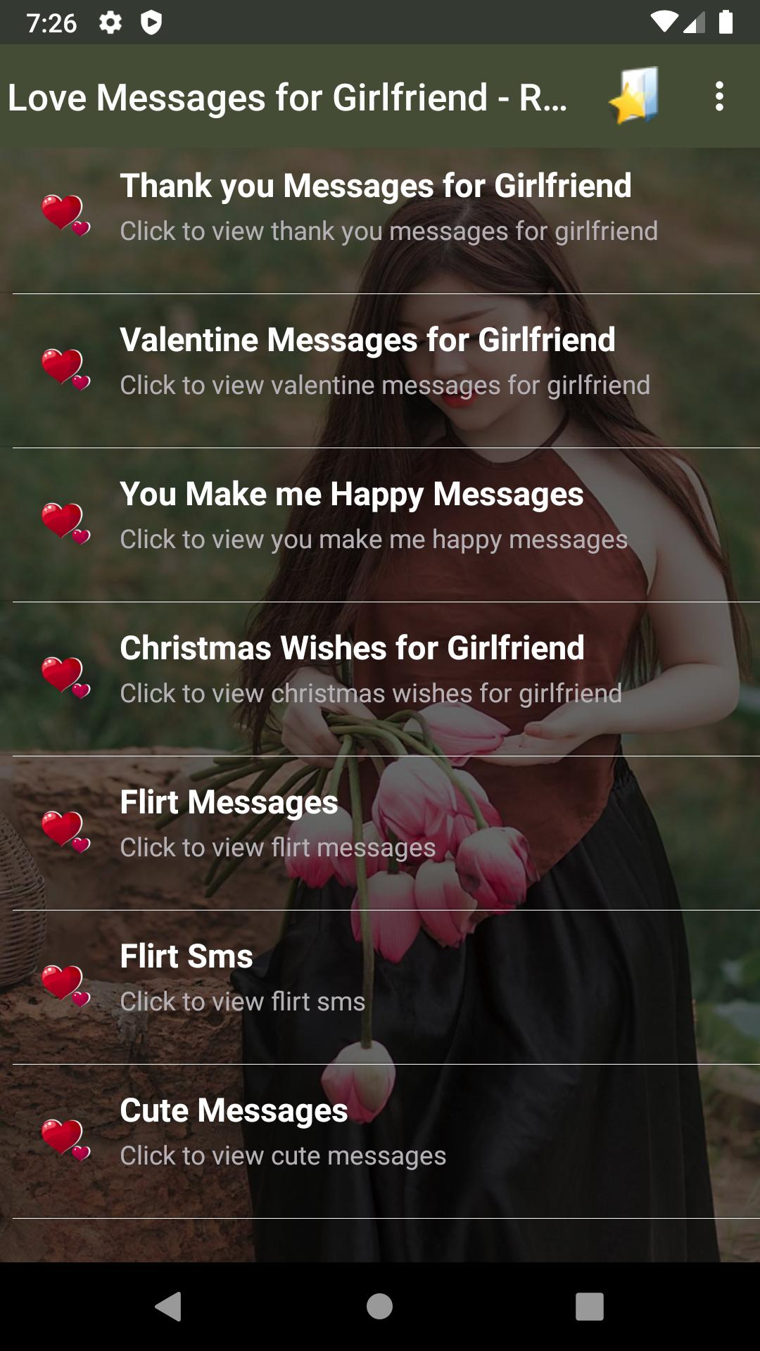 Messages text romantic for her flirty 115 Flirty