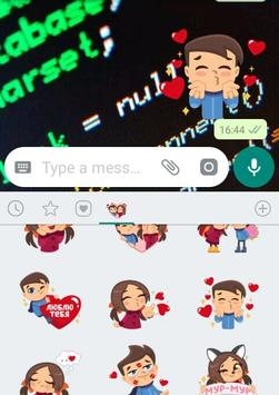 WAStickerApps -Lovers Stickers for WhatsApp screenshot 1