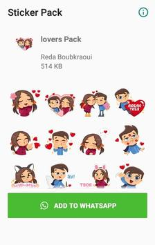 WAStickerApps -Lovers Stickers for WhatsApp screenshot 2