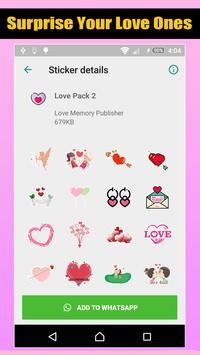 Love Romantic Stickers For WhatsApp screenshot 4