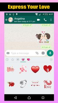 Love Romantic Stickers For WhatsApp screenshot 5