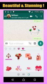 Love Romantic Stickers For WhatsApp screenshot 6