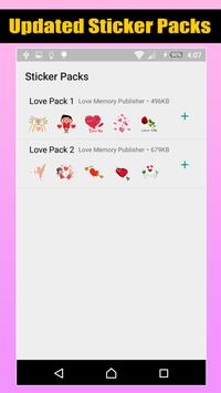 Love Romantic Stickers For WhatsApp screenshot 7