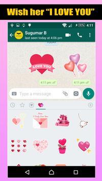 Love Romantic Stickers For WhatsApp screenshot 2