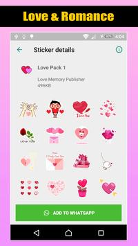 Love Romantic Stickers For WhatsApp screenshot 3